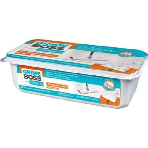 GRIME BOSS Casabella Wet Mopping Cloths (24-Pack)