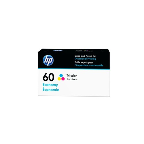 HP 60 Economy Yield Tricolor Ink Cartridge (B3B06AN)