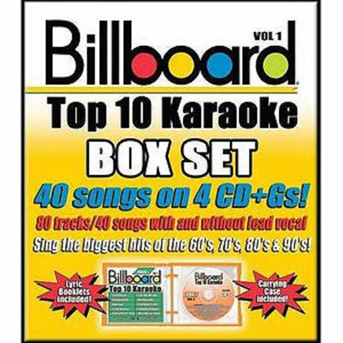 Billboard Top 10 Karaoke, Vol. 1 By Karaoke (Audio CD)