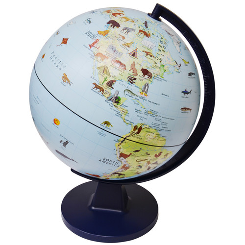 Green Toys Learning & Educational Toys Elenco Wildlife Globe
