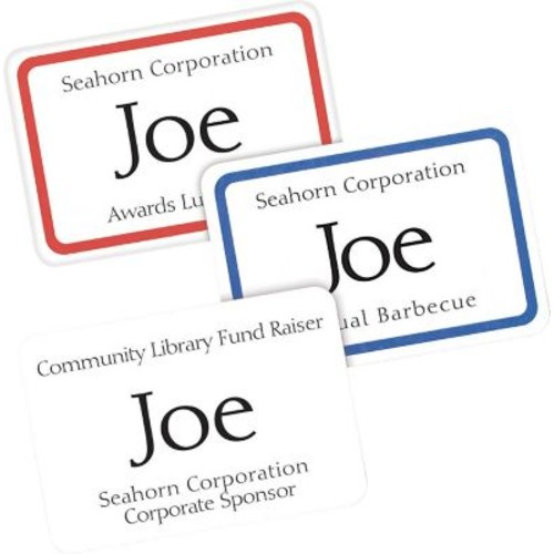 Avery Laser/Inkjet Self-Adhesive Name Badge Labels