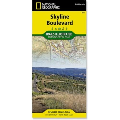 Skyline Boulevard Topographic Map