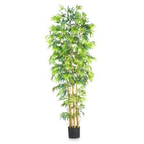Nearly Natural 7-Foot Multi-Bambusa Bamboo Silk Tree