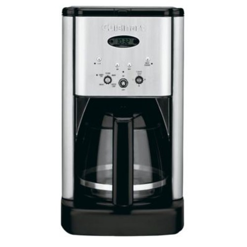 Cuisinart DCC-1200 Brew Central 12-Cup Programmable Coffeemaker, Silver
