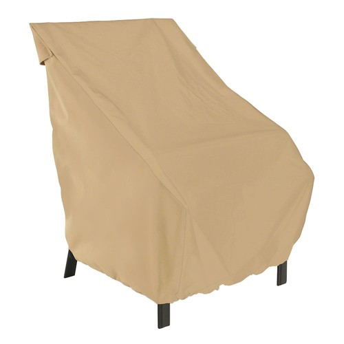 Classic Accessories Terrazzo High Back Patio Chair Cover - Outdoor
