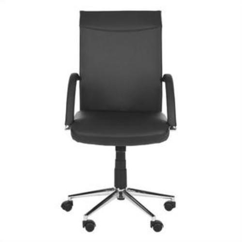 Safavieh Dejana Desk Office Chair in Black