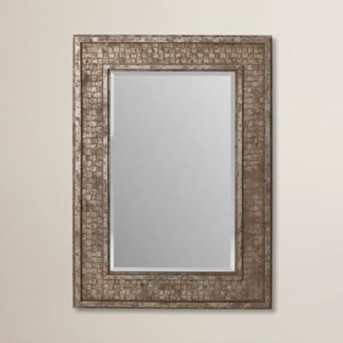 Mistana Rectangle Wood Framed Wall Mirror