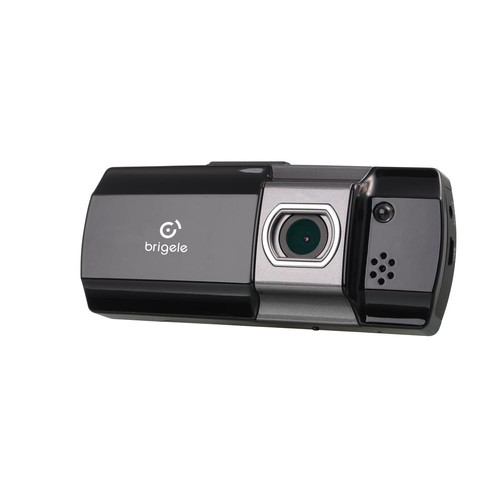 Brigele Dash Cam Full HD 1080p 3MP with 32GB SD Card Recording Storage and Impact Sensor for Traffic Accident Evidence