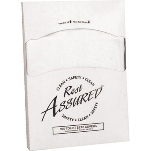Quarter-Fold Toilet Seat Covers, 200 Covers/Pk, 25/Ct