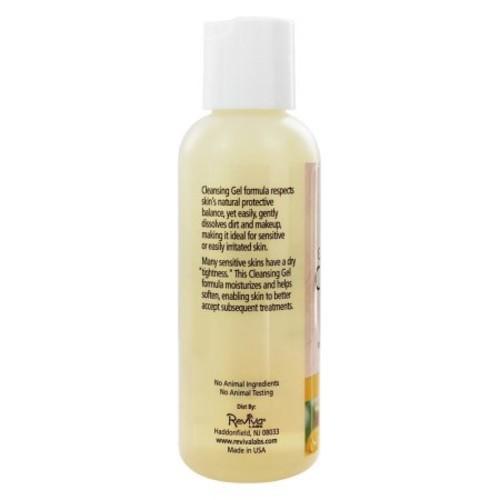 Reviva Labs Sensitive Skin Cleansing Gel, 4 Fl Oz