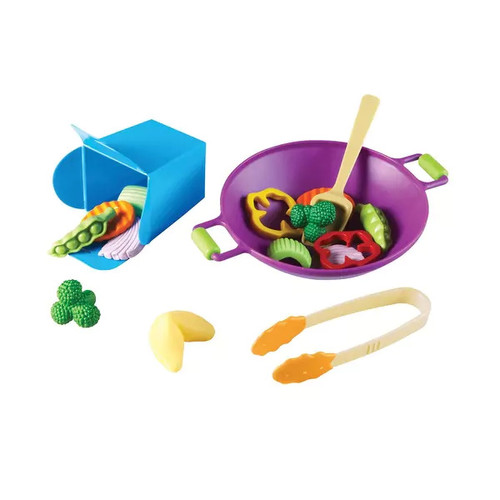 Learning Resources New Sprouts Stir Fry Set, 17 Pieces