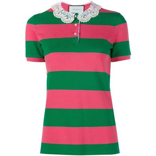 GUCCI Piqué Polo Shirt