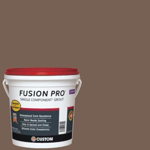 Custom Building Products Fusion Pro #52 Tobacco Brown 1 Gal. Single Component Grout