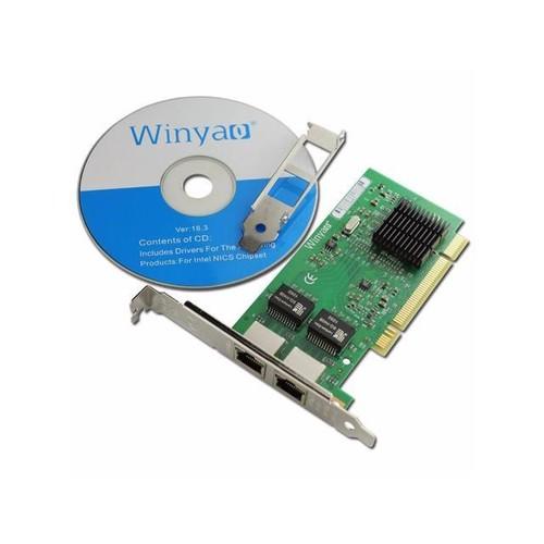 10/100/1000Mbps Dual Ports PCI Gigabit Ethernet Server Card