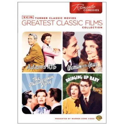 TCM Greatest Classic Films Collection: Romantic Comedies (Adam's Rib / Woman of the Year / The Philadelphia Story / Bringing Up Baby)