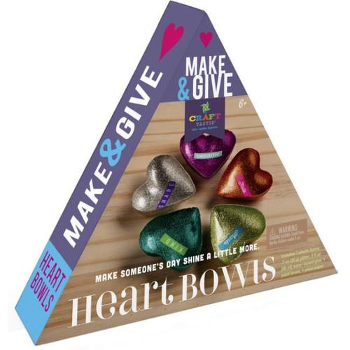 CRAFT-TASTIC MAKE & GIVE HEART BOWLS