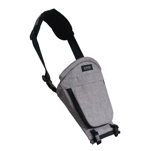 MiaMily Hipster Plus Single Shoulder Baby Carrier Accessory - Stone Grey