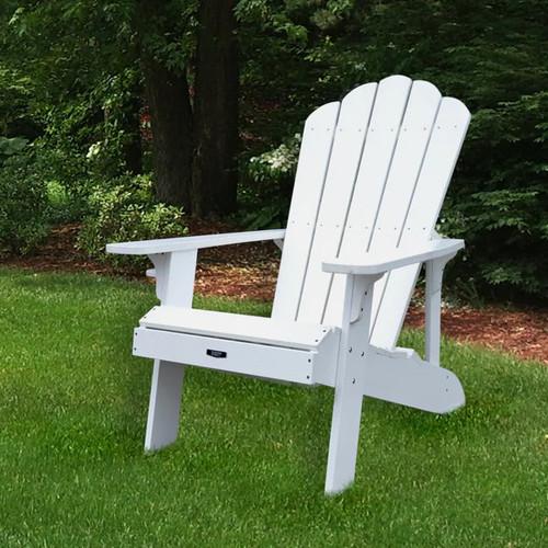 Island Umbrella Outdoor Sofas, Chairs & Sectionals Island Retreat Adirondack Chair - White