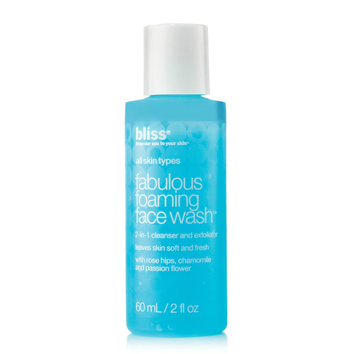 bliss Fabulous Foaming Face Wash - Travel Size