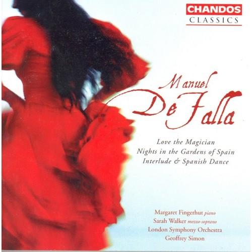 M. De Falla - Manuel De Falla: Love the Magician; Nights in the Gardens of Spain; Interlude & Spanish Dance [CD]