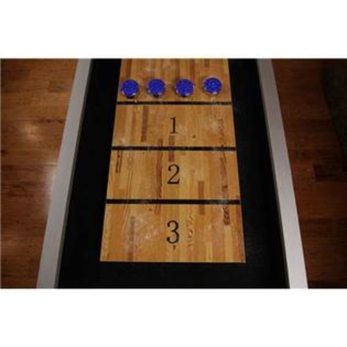 Escort Escalade Sports Atomic 9Foot Platinum Shuffleboard Table
