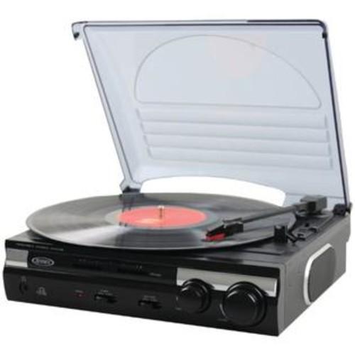 TELEDYNAMICS 3-Speed Stereo Turntable W/ Speakers