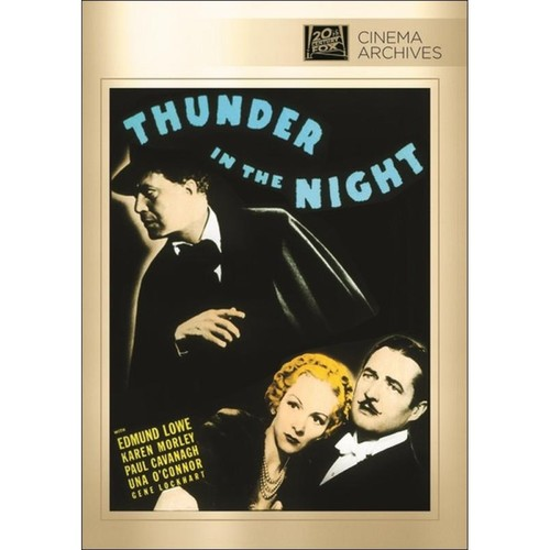 Thunder in the Night [DVD] [1935]
