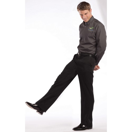 Big & Tall Classic Fit Trouser Pant - Online Exclusive [Fit : Men's Big & Tall; Inseam : 36]