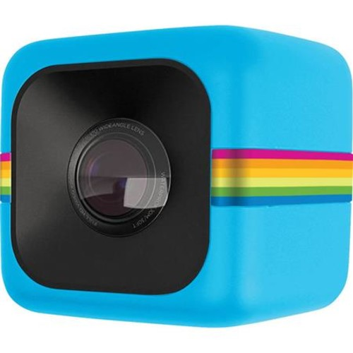 Polaroid CUBE 6MP Full HD Sports Lifestyle Action Video Camera, Blue POLC3BL