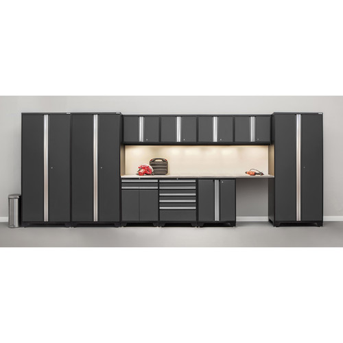 Age Pro Series 12-piece Set With Stainless Steel Worktops [option : Red]