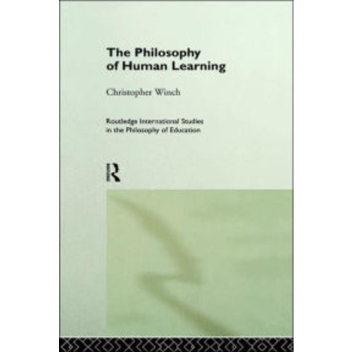 The Philosophy of Human Learning