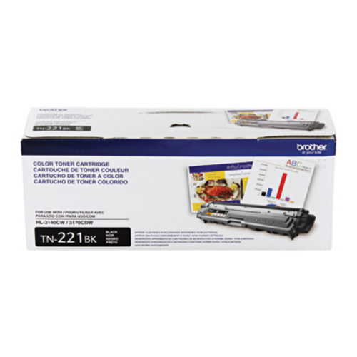 Brother TN221BK Standard Yield Black Toner