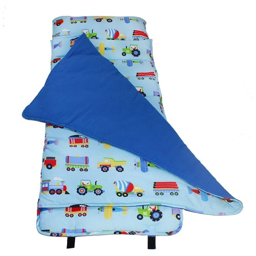 Wildkin Trains, Planes and Trucks Nap Mat - Kids