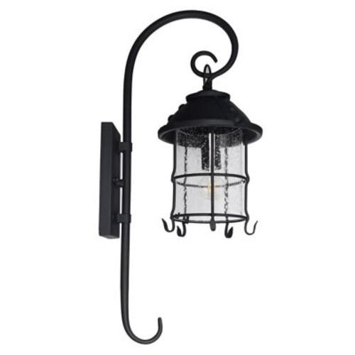August Grove Sanders 1-Light Outdoor Wall Lantern