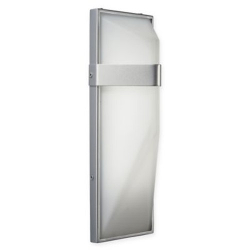 George Kovacs Wedge 1-Light LED Large Wall Sconce in Silver