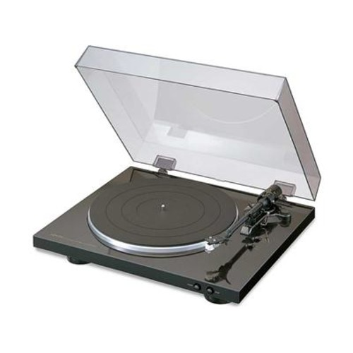Denon DP-300F Automatic belt-drive turntable with pre-mounted cartridge and built-in phono preamp