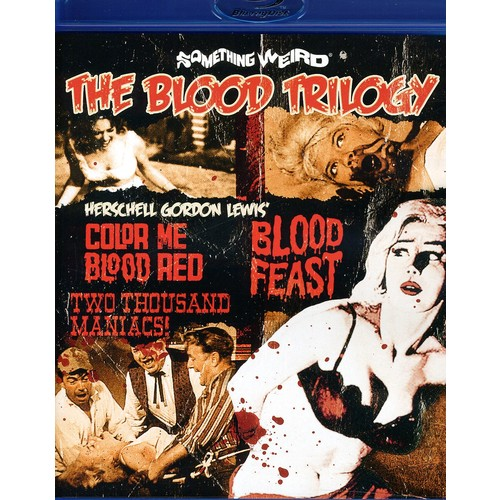 The Blood Trilogy (Blu-ray Disc)