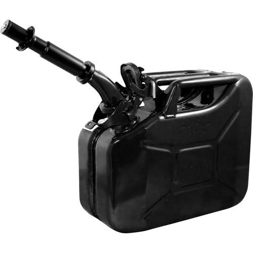 Wavian Leakproof Steel Gas Can  10-Liter, Black, Model# 3024