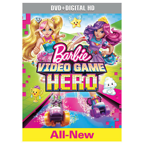 Barbie: Video Game Hero DVD (DVD/Digital HD)