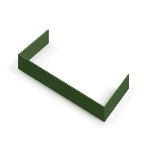 Hallman Decorative Toe Kick for 30 in. Range in Emerald Green