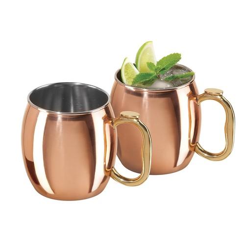 OGGI Moscow Mule Copper Mugs - 2-Pack, 20 fl.oz.