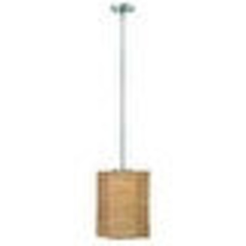 Hinkley Lighting 30825-GU24 1 Light Title 24 Fluorescent Mini Pendant with Tan Shade from the Maya Collection