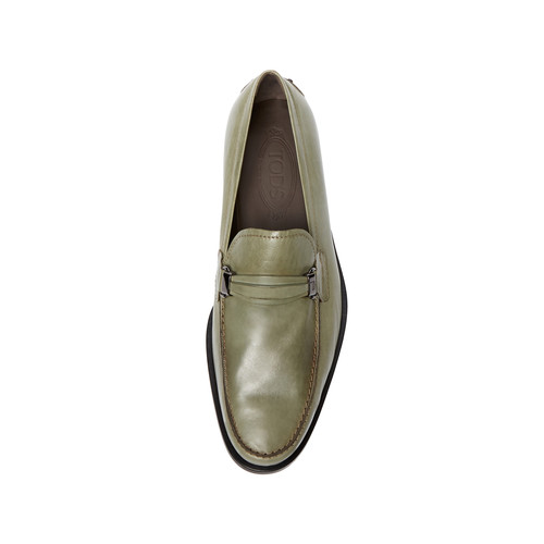 Leather Bit Loafer by Tod's