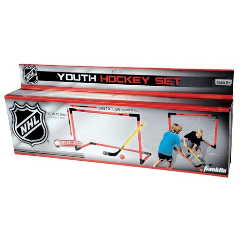Franklin Sports NHL Adjustable Hockey Goal Set - Youth