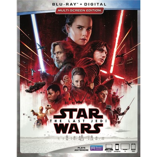 Star Wars: The Last Jedi (Blu-ray + Digital)