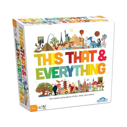 Outset Media This That and Everything Classic Party Game