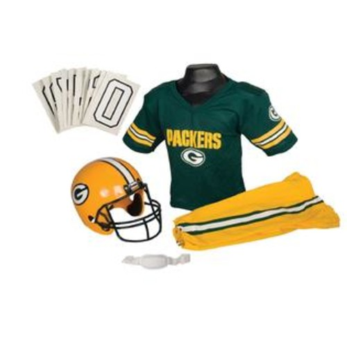 Franklin Sports 15701F05P1Z NFL PACKERS Medium Uniform Set