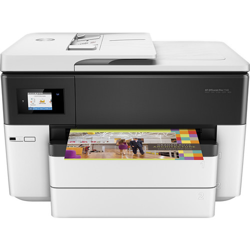 HP - OfficeJet Pro 7740 Wireless All-In-One Printer