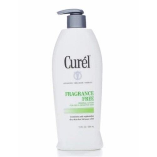 Curel Daily Moisture Fragrance-Free Lotion For Dry Skin 13 oz (Pack of 6)