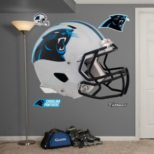 Fathead NFL Carolina Panthers Revolution Helmet Wall Graphic